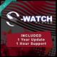 Wavecrossing - S-Watch - Logiciel Binaural - Musicothérapie - Chroma-thérapie